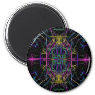 Space geometric drawing magnet