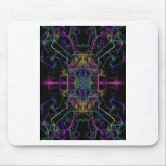 Space geometric drawing mouse mat