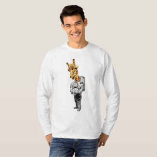 Space Giraffe Long Sleeve T-Shirt