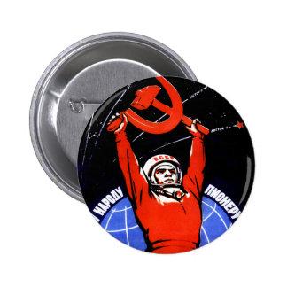 Space Glory 6 Cm Round Badge