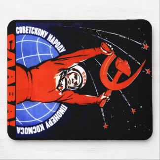 Space Glory Mouse Pad