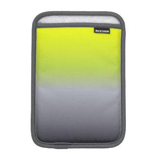Space Gray Green Gradient iPad Mini Sleeve