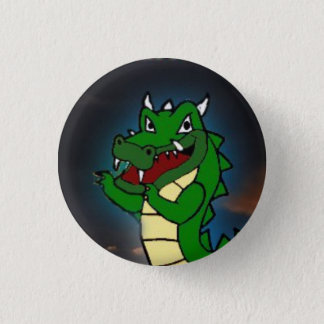 Space Harrier Squilla Cutesy Badge
