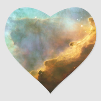 SPACE HEART STICKER