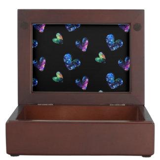 Space Hearts Memory Box