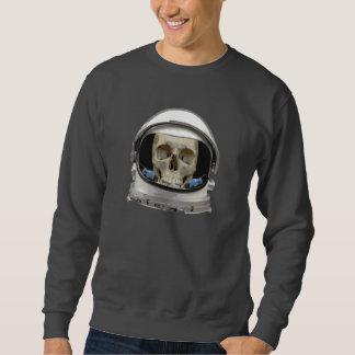 Space Helmet Astronaut Skull Sweatshirt
