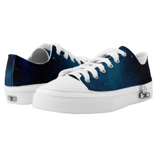 SPACE!!! High Tops Printed Shoes