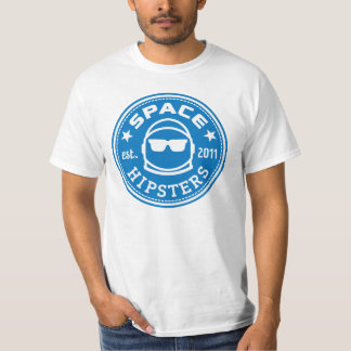 Space Hipsters® Men's Logo Tee (White)