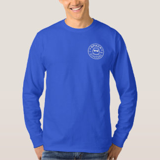 Space Hipsters Men's Long Sleeve Logo Shirt
