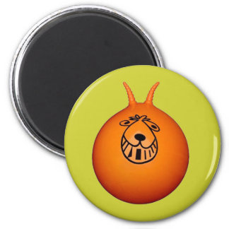 Space Hopper Magnet Green