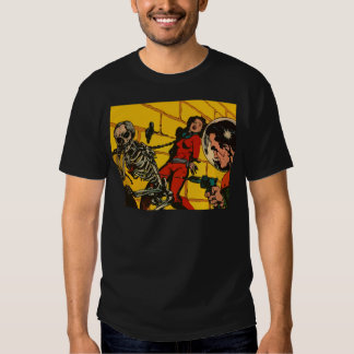 Space Horror - Vintage Science Fiction Comic Art T Shirts