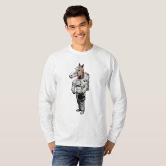 Space Horse Long Sleeve T-Shirt