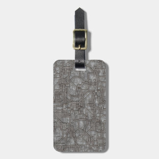 Space Hull Luggage Tag