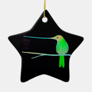 Space Humming Bird Christmas Ornament