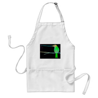 Space Humming Bird Standard Apron