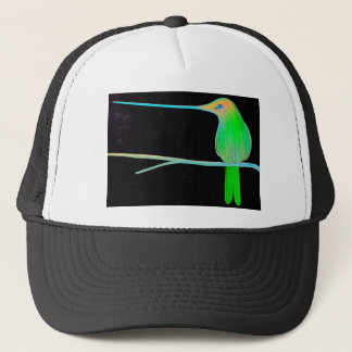 Space Humming Bird Trucker Hat
