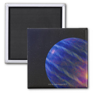 Space Image 2 Square Magnet