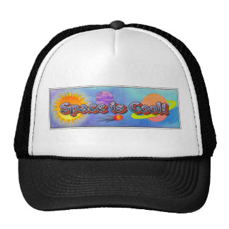 Space is Cool! Mesh Hats