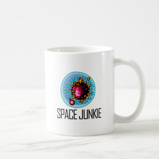 Space Junkie Asteroid Coffee Mug
