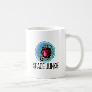 Space Junkie Asteroid Classic White Coffee Mug