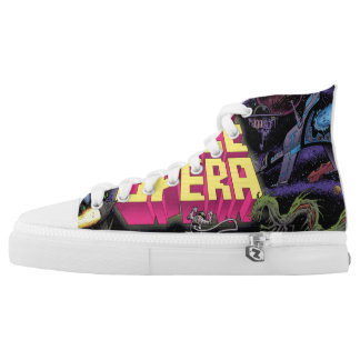 Space Kicks! High Tops