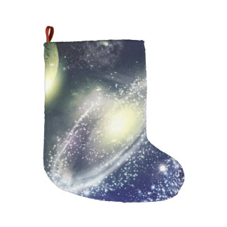 Space Large Christmas Stocking