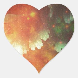 Space Leaks Heart Sticker