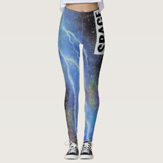 Space Lightning Leggings