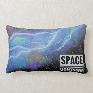 Space Lightning Pillow