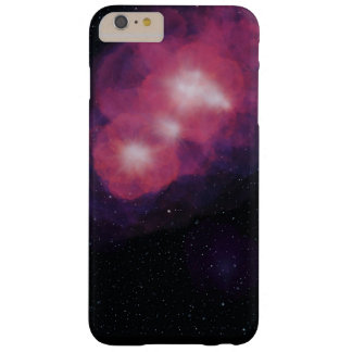Space look design barely there iPhone 6 plus case