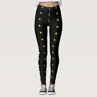 Space look design leggings