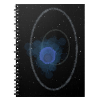 Space look design notebook