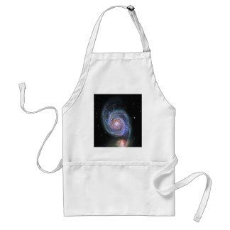Space M51 Whirlpool Galaxy Standard Apron