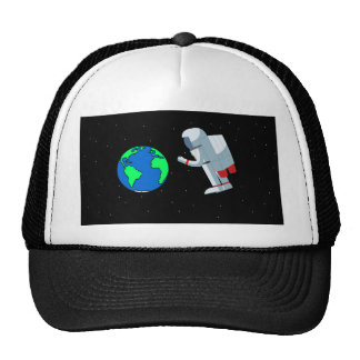 Space Man Cap