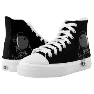 Space Man High Tops (Black)