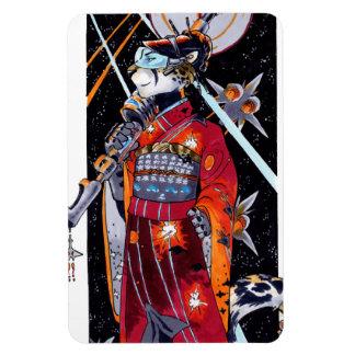 Space Marine Kimono Jaguar Magnet