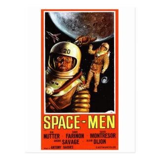 """""""Space-Men"""" Postcard"""