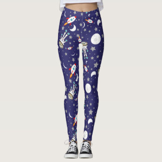 Space Monkey Leggings