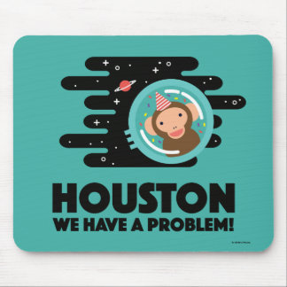 Space Monkey Mouse Mat