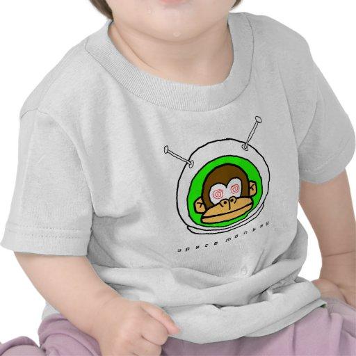 Space Monkey on... Tee Shirts