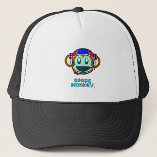 Space Monkey Trucker Hat