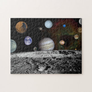 Space Montage Jigsaw Puzzle