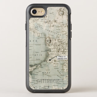 SPACE: MOON MAP, 1972 OtterBox SYMMETRY iPhone 8/7 CASE