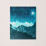 Space Mountains Photo Puzzle