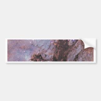 Space nebula bumper sticker