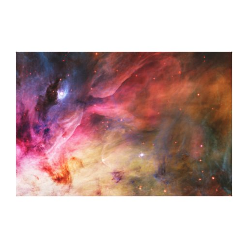 Space Nebula Gallery Wrapped Canvas