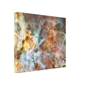 Space Nebula Canvas Print