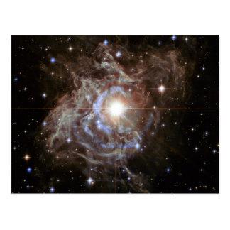 Space Nebula - Cepheid Variable Star RS Puppis Postcard