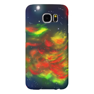 space (nebula) samsung galaxy s6 cases