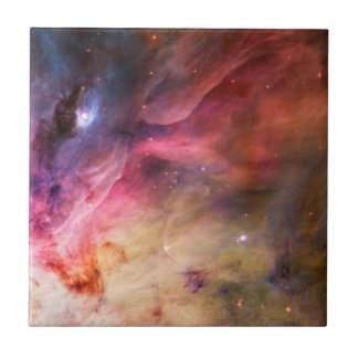 Space Nebula Small Square Tile